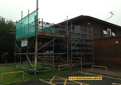 Birdcage scaffolding