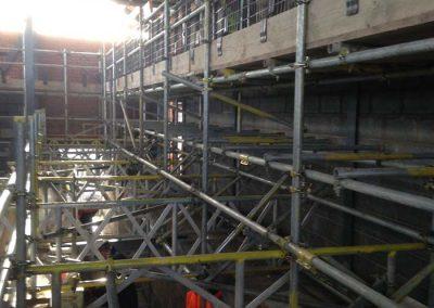 Designed scaffolding