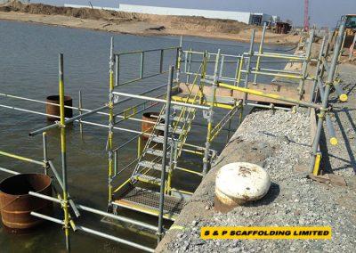 HAKI stairs scaffolding