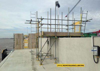 Walkway Scaffolding