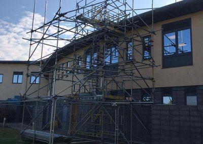 Freestanding HAKI stairs scaffolding